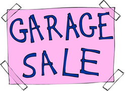 Garage Sale - All Things Kids