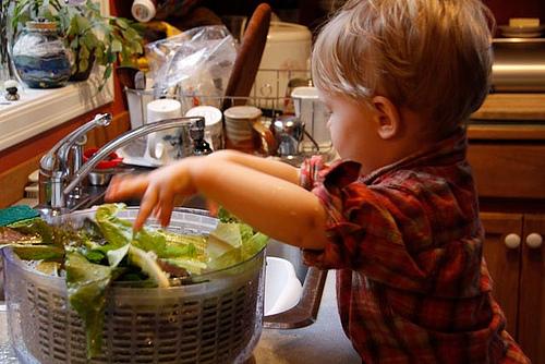 Toddler at Montessori Radmoor